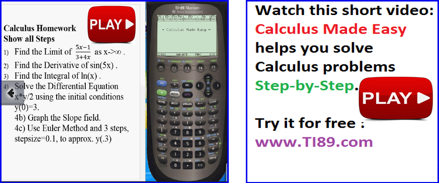 ▷Step by Step ✅ Apps for the TI89 Calculator - Free